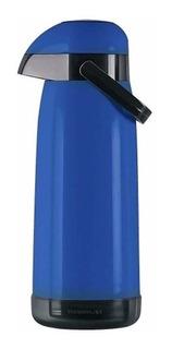 Termo Bomba Mate Termolar Magic Pump 1.8 Litros Azul