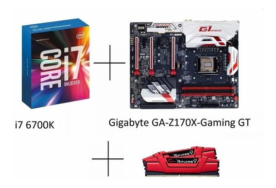 I7 6700k+gigabyte Gaming Gt Z170x+16gb G.skill 2666mhz Ripja
