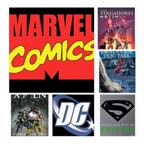 Box 4 Livros De Heróis Marvel Vs Dc Novos Lacrados