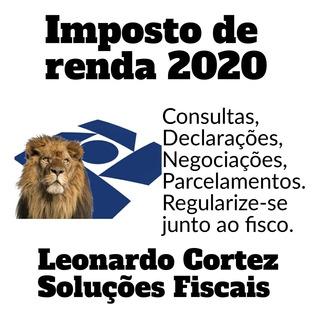 Imposto De Renda Pessoa Fisica 2020 Irpf 2020