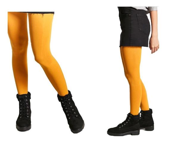 Medias Panty Ultra Opaca. Diferentes Colores Y Mostaza!!!