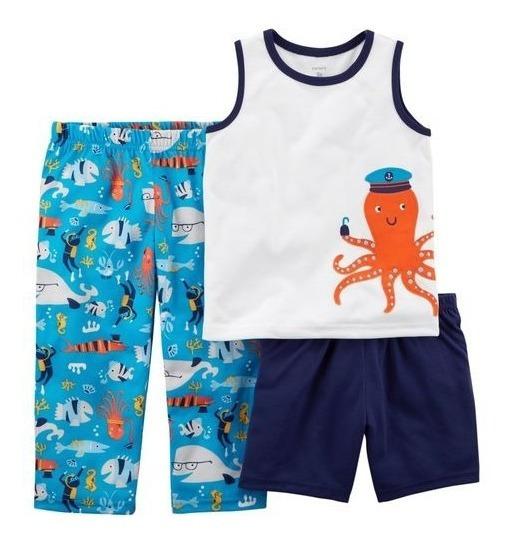 Conjunto Carters Remera Pantalon Nene Mercado Importado