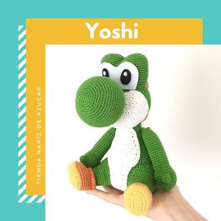 Crochet Yoshi dino - free pattern (spanish) (mit Bildern ... | 320x320