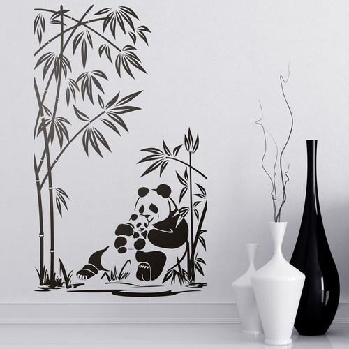 Vinilo Decorativo Animales Salvajes! Selva, Leon, Panda
