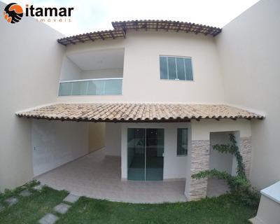Excelente Casa A Venda No Bairro Praia Do Morro, Você Só Encontra Nas Imobiliárias Itamar Imoveis! Confira - Ca00217 - 32911655