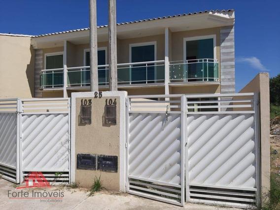 Casa Duplex 1ª Locação C/ 2 Dormitórios - Cosmos Rj - Ca0352