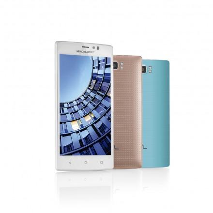 Smartphone Multilaser Ms60 2 Chip Branco Nb231