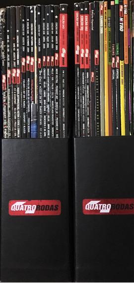 15 Revistas Quatro Rodas, 10 Especiais, 5 Dvds, 4 Cds