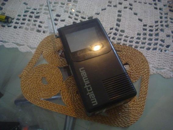 Mini Tv Watchman Sony Preto E Branco