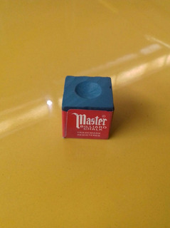 Set De 12 Tizas P/ Taco De Billar Master Billiard