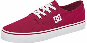 Tenis Dc Shoes Flash 2 Fiusha 73948 Talla 22.5-25 Mujer Sc