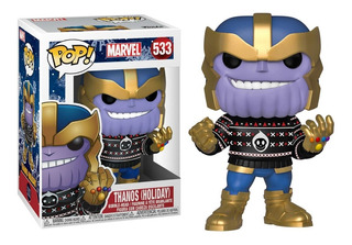 Funko Pop Thanos Holiday #533 Marvel Jugueterialeon