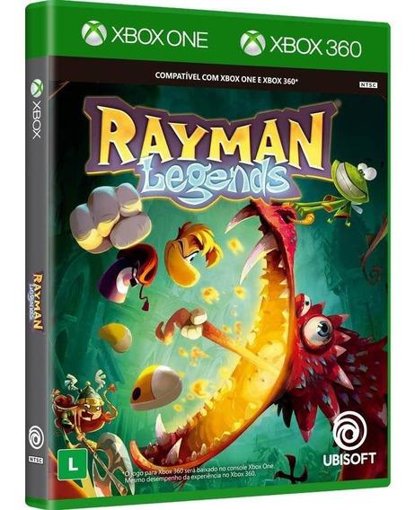 Rayman Legends - Xbox 360 - Xbox One - Novo - Mídia Física