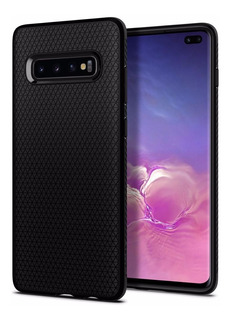 Capa Premium Spigen® Liquid Air Black Protective Galaxy S10+
