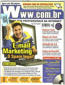 Revista W W W + Cd Rom - Curso E-mail Marketing Eficiente