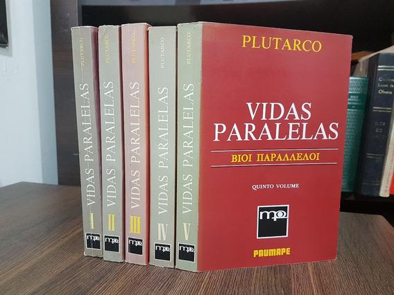 Raro - Vidas Paralelas - Plutarco - 5 Vols