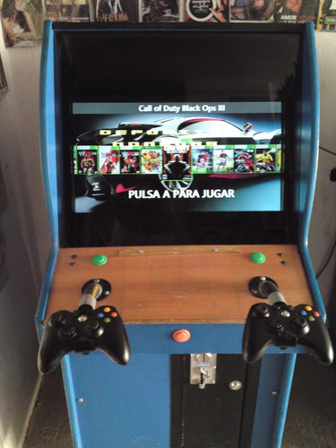 Imagen 1 de 6 de Maquinas Polito Xbox 360 Y Controles.