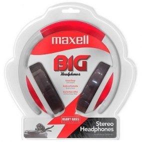 61l Headphone Maxell( Branco/vermelho/cinza Azul)