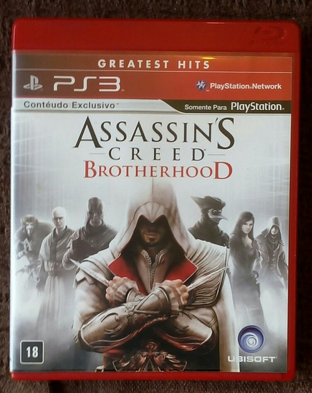 Assassins Creed Brotherhood Para Playstation 3