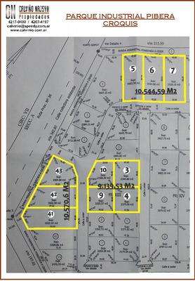 Terreno En Venta De 9.140 M2- Parque Industrial Pibera