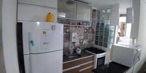Apartamento Com 2 Dormitórios À Venda, 50 M² Por R$ 270.000,00 - Vila Homero Thon - Santo André/sp - Ap12336