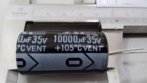 Capacitor Eletrolitico 10000uf 35v 105ºc Amp De Potencia