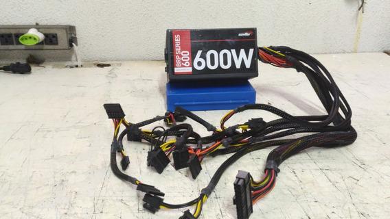 Fonte Real Sentey Modelo Brp600 - 600w