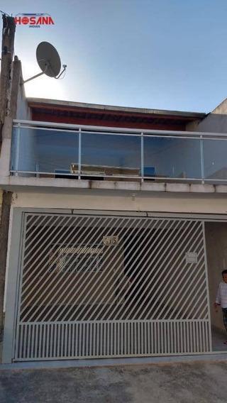 Sobrado Com 2 Dormitórios À Venda, 181 M² Por R$ 450.000,00 - Jardim Marcelino - Caieiras/sp - So0977