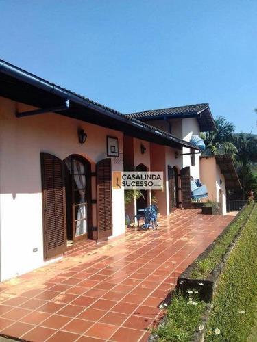 Chácara Em Condominio Fechado 700m² A.t 2.000 , 4 Dortms. 10 Vagas Próx. À Estrada Do Lago E Rua Serra De Bragança-ch0033 - Ch0033