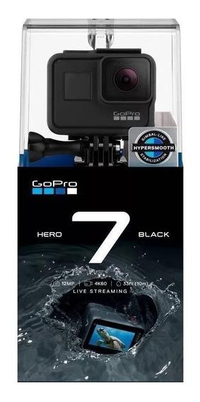 Gopro Hero 7 Black Câmera Filmadora Chdhx-701 Com Nota