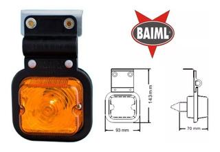 Faro Baiml 634 Con Soporte P/ Lampara 5w Culote Vidrio