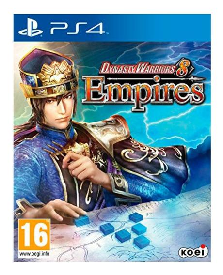 Dynasty Warriors 8 Empires Ps4 Semi Novo Midia Fisica