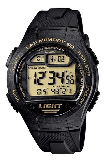 Relógio Casio Digital Masculino W-734-9a