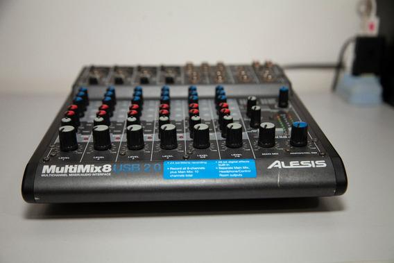 Alesis Multimix 8 Usb Fx | 8-channel Mesa E Interface Usb
