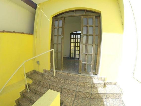 Casa Com 3 Dormitórios Para Alugar, 150 M² Por R$ 2.500/mês - Vila Bocaina - Mauá/sp - Ca0139