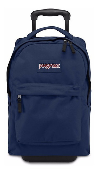 Mochila Jansport Wheeled Superbreak Azul Original