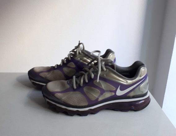 Zapatillas Nike Con Camara De Aire Mujer Talle 38.5