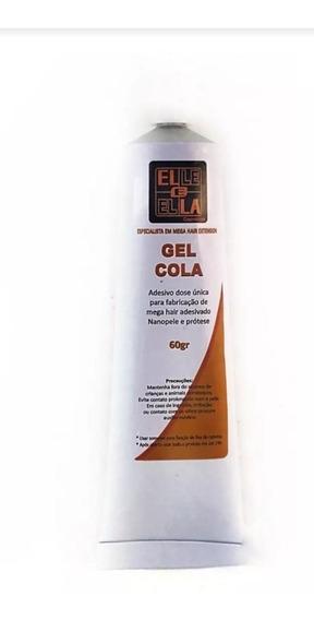 1 Gel Cola Para Fabricação De Mega Hair Extension De 60g