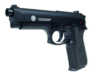 Pistola Arma Balines 6mm Bereta Pt92 Metalica Pesada Airsoft