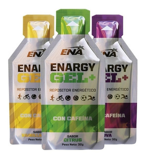 Enargy Gel Cafeína Caja 12 Unid Ena Sport Repositor Energético