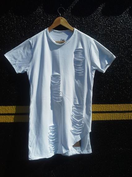 Camiseta Longline Camisa Blusa Oversized Lkf Masculin