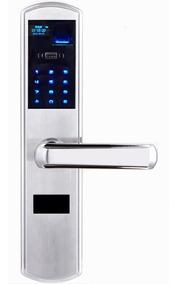 Fechadura Biométrica De Aço Com Cartão, Senha, Chave