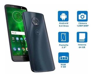Motorola Moto G6 Plus 64gb Índigo Oscuro