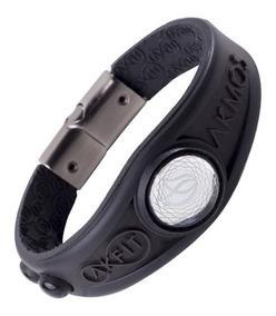 Pulseira Akmos Magnética Infra Equilíbrio 2019 Bracelete Ele