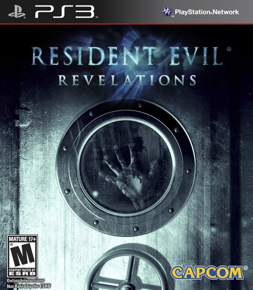 Resident Evil Revelations Ps3 Novo Lacrado Midia Fisica
