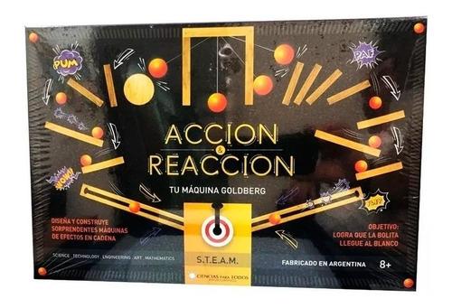 Acción Y Reacción La Máquina De Goldberg 7002 E.normal