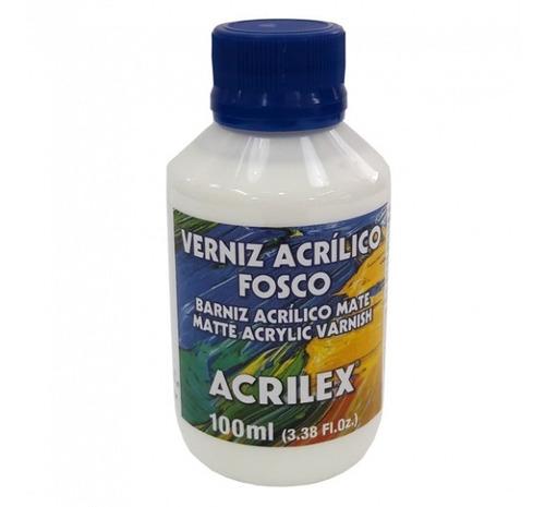 Verniz Acrílico Fosco Acrilex (100 Ml)