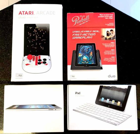 iPad 3a Ger. Wi-fi Colecionador Teclado Controles Exclusivos