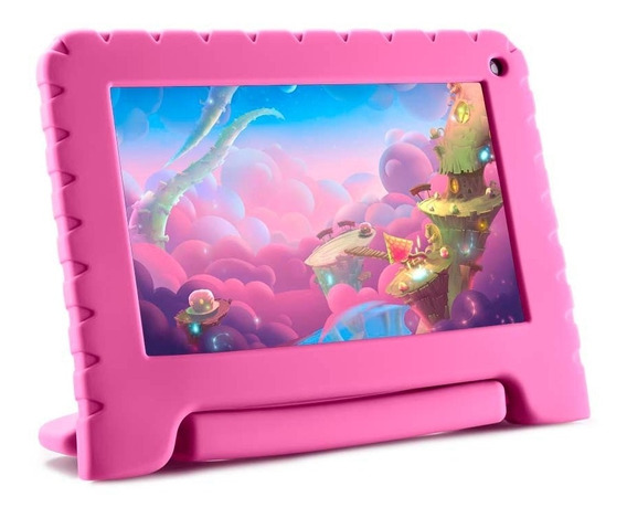 Tablet Multilaser Kid Pad Lite 7 8gb 8.1 Nb303 - Rosa
