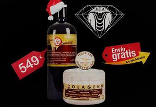Kit 3 Piezas Shampoo Caballo 1lt+yegualash + Colageno